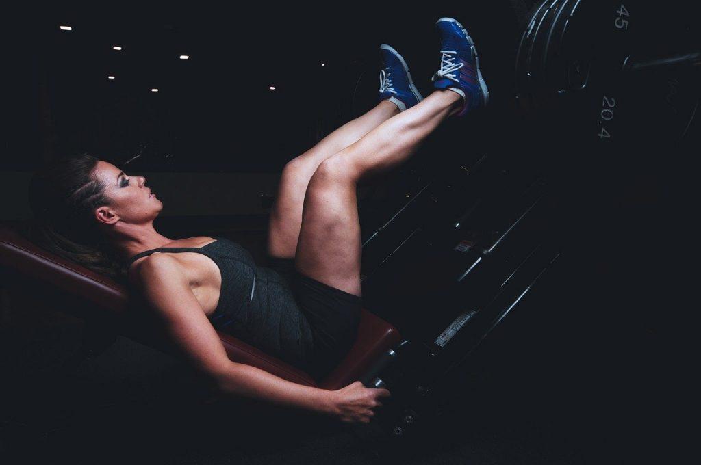 training, press, legs